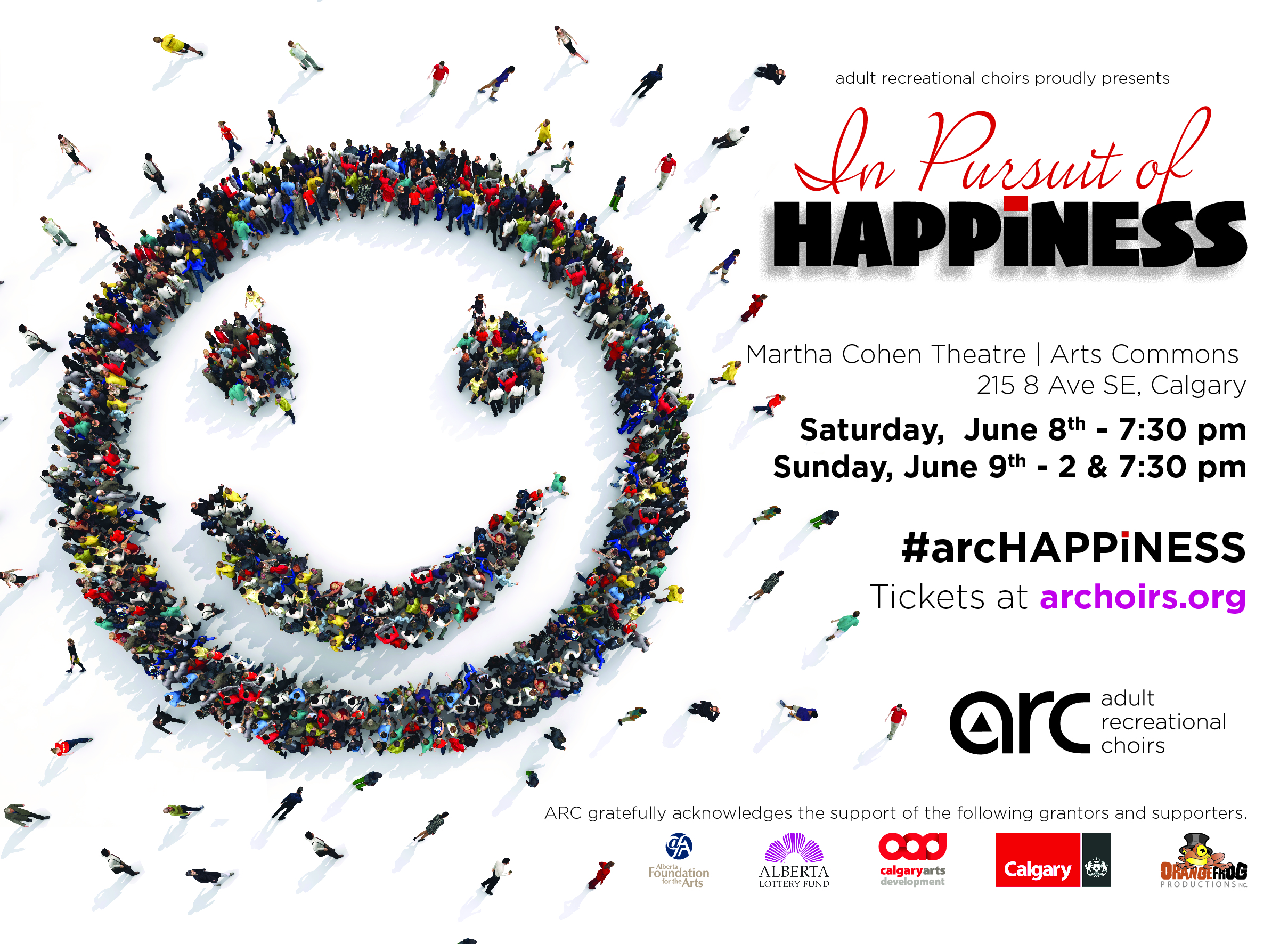 A Year Of Happiness adult recreational choirs in pursuit of happiness